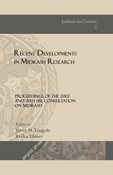 Picture of Recent Developments in Midrash Research