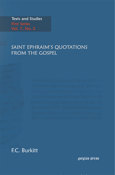 Picture of Saint Ephraim's Quotations From The Gospel