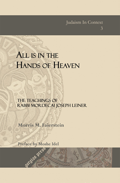 Picture of All is in the Hands of Heaven