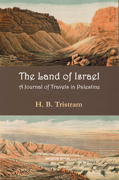 Picture of Land of Israel. A Journey of Travel in Palestine