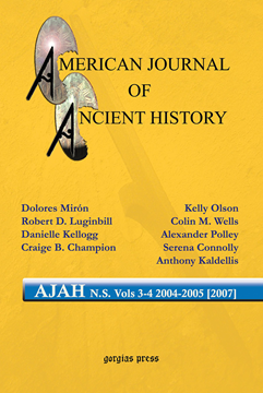 Picture of American Journal of Ancient History (New Series 3-4, 2004-2005 [2007])
