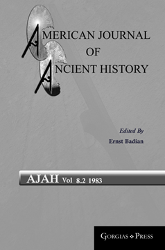 Picture of American Journal of Ancient History 8.2