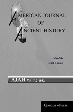 Picture of American Journal of Ancient History 7.2