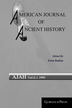 Picture of American Journal of Ancient History 12.1