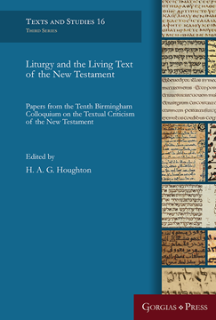 Picture of Liturgy and the Living Text of the New Testament