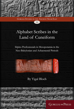 Picture of Alphabet Scribes in the Land of Cuneiform
