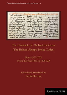 Picture of The Chronicle of Michael the Great (The Edessa-Aleppo Syriac Codex)