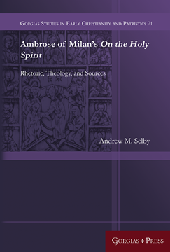 Picture of Ambrose of Milan's On the Holy Spirit