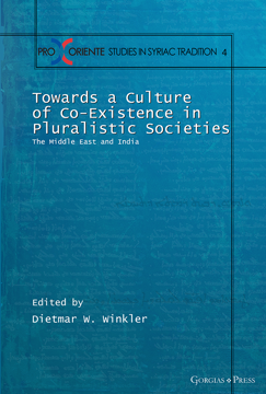 Picture of Towards a Culture of Co-Existence in Pluralistic Societies