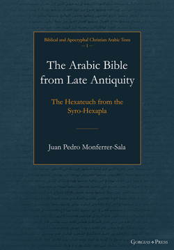 Picture of The Arabic Bible from Late Antiquity