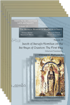 Picture of Jacob of Sarug's Homilies on the Six Days of Creation - Bundle